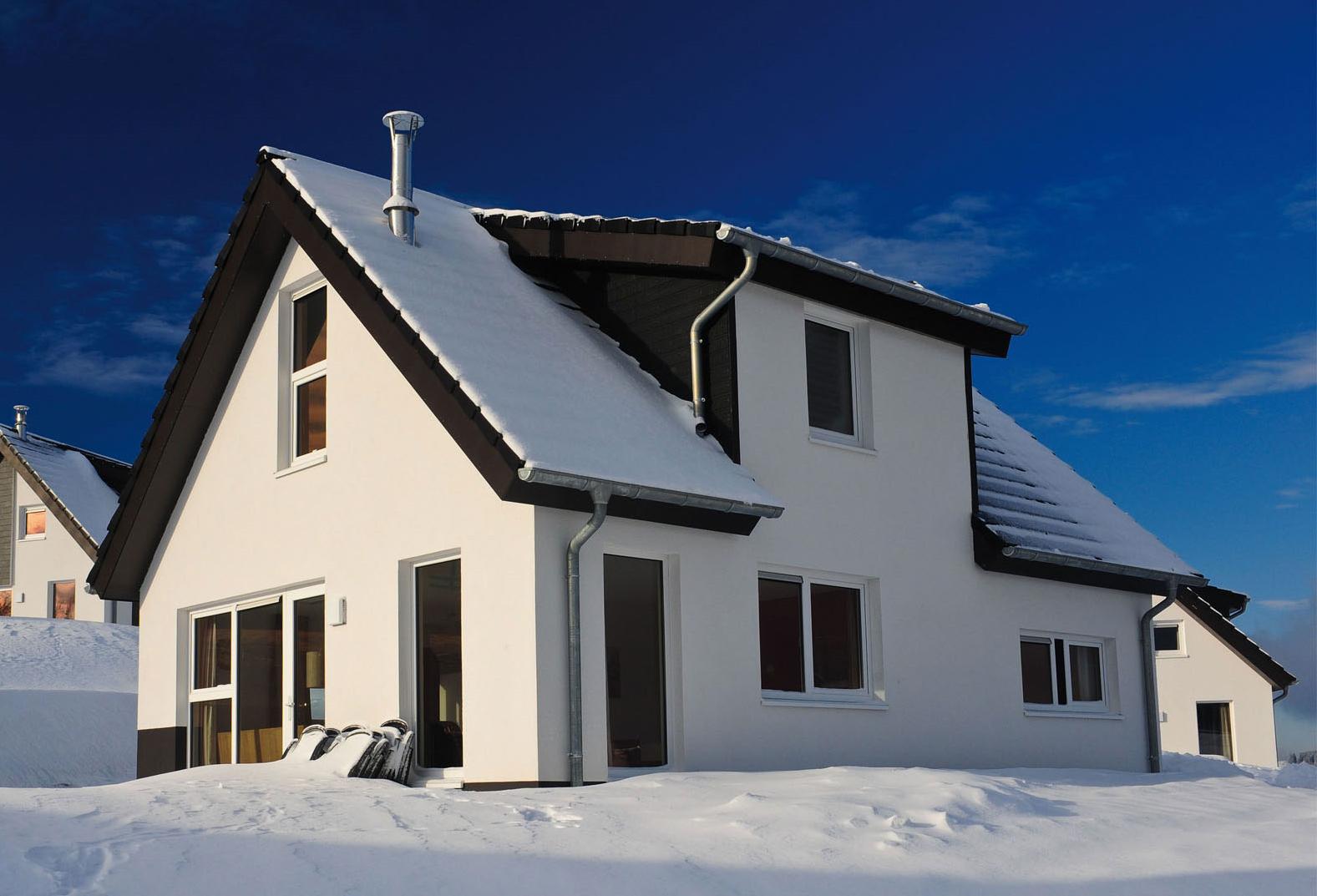 1 Foto buitenzijde sneeuw met zon goed formaat