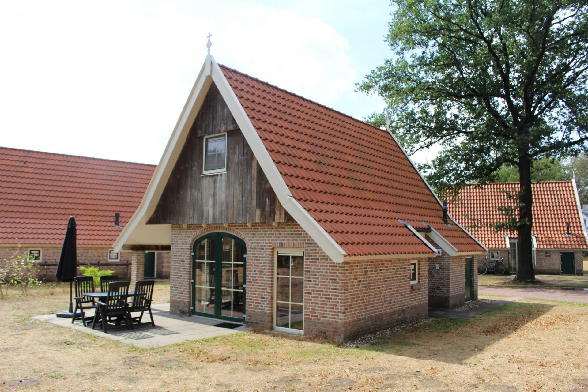 1 Vakantiehuis 186, type Hoes Bentheim 4-persoons