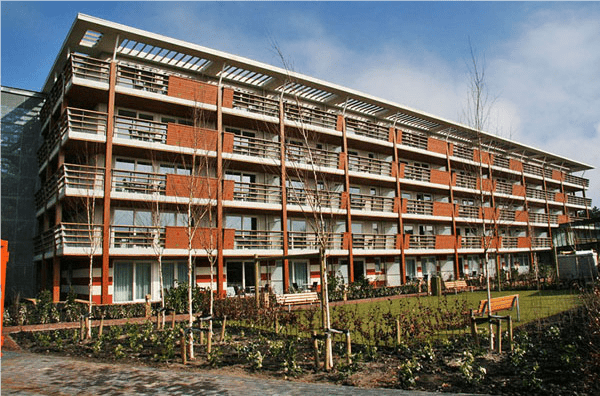1. 6-persoons luxe appartement nr. 31 Landal West Terschelling