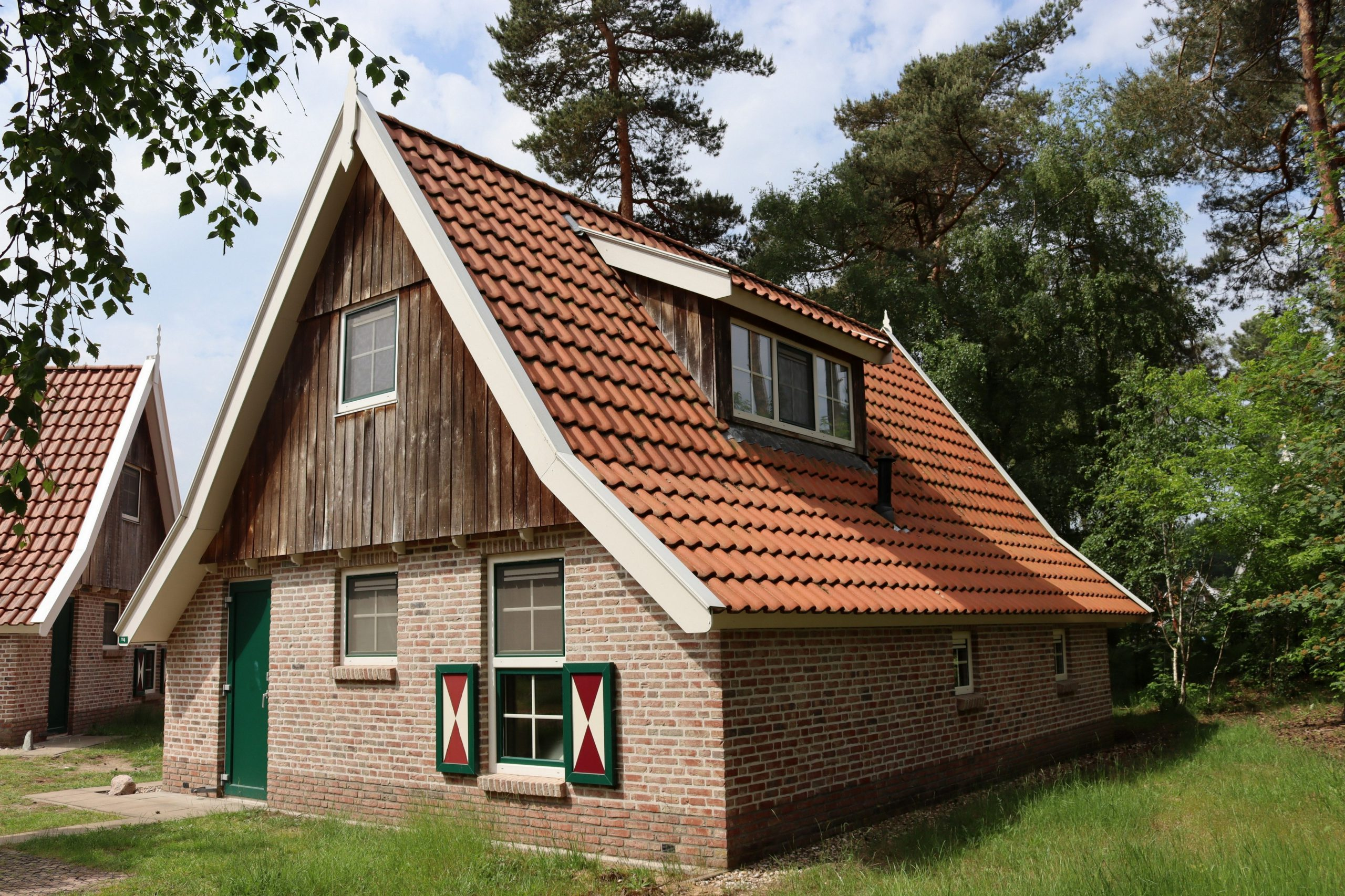 1. Recreatiewoning nr. 114 4-persoons luxe Steeger Hoes