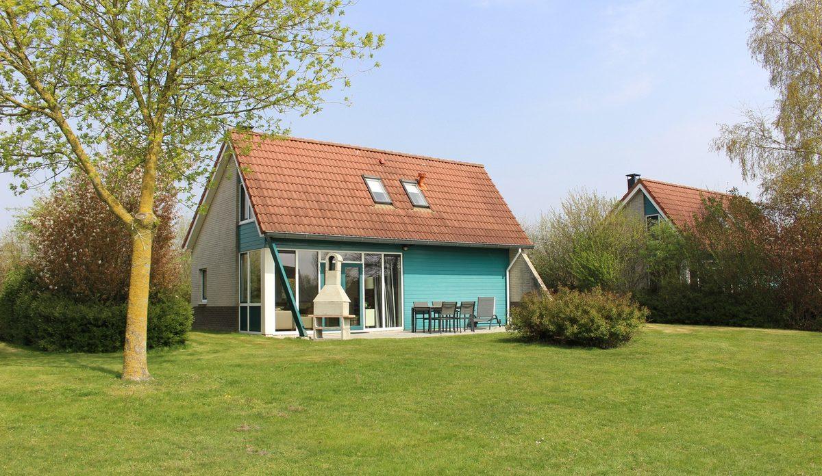 Buitenhuis 406, type 4-persooons Trias VIP (SR359) Ref1