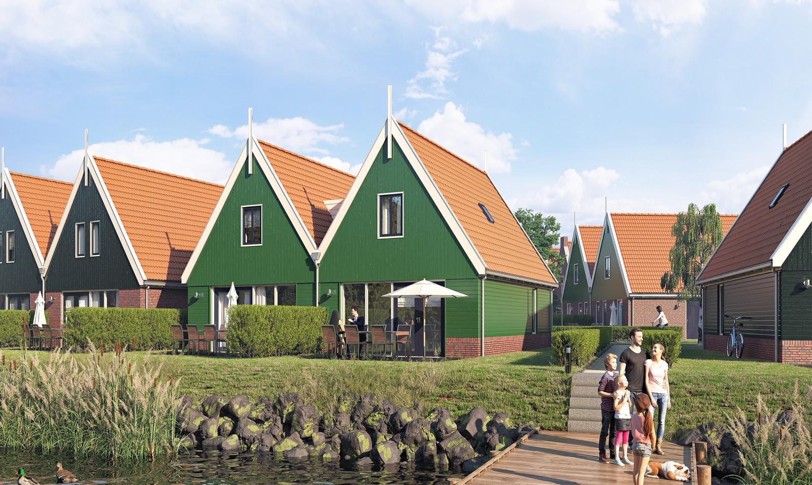 Landal Volendam – Volendam – Foto 2 – 4-PERSOONS LUXE TWEEKAPPER