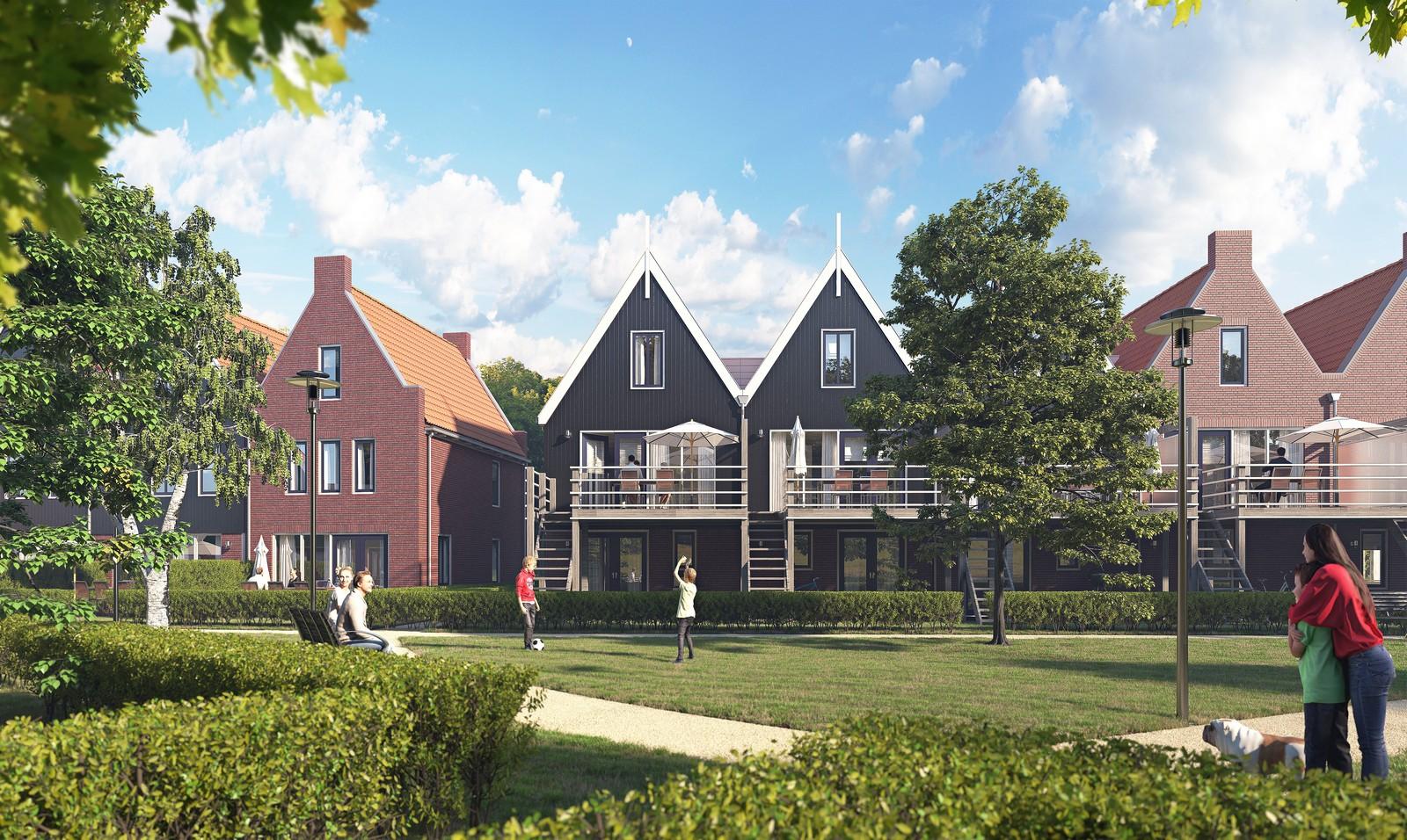 Landal Volendam – Volendam – Foto 7 – 6-PERSOONS COMFORT HOEK- EN TUSSENWONING