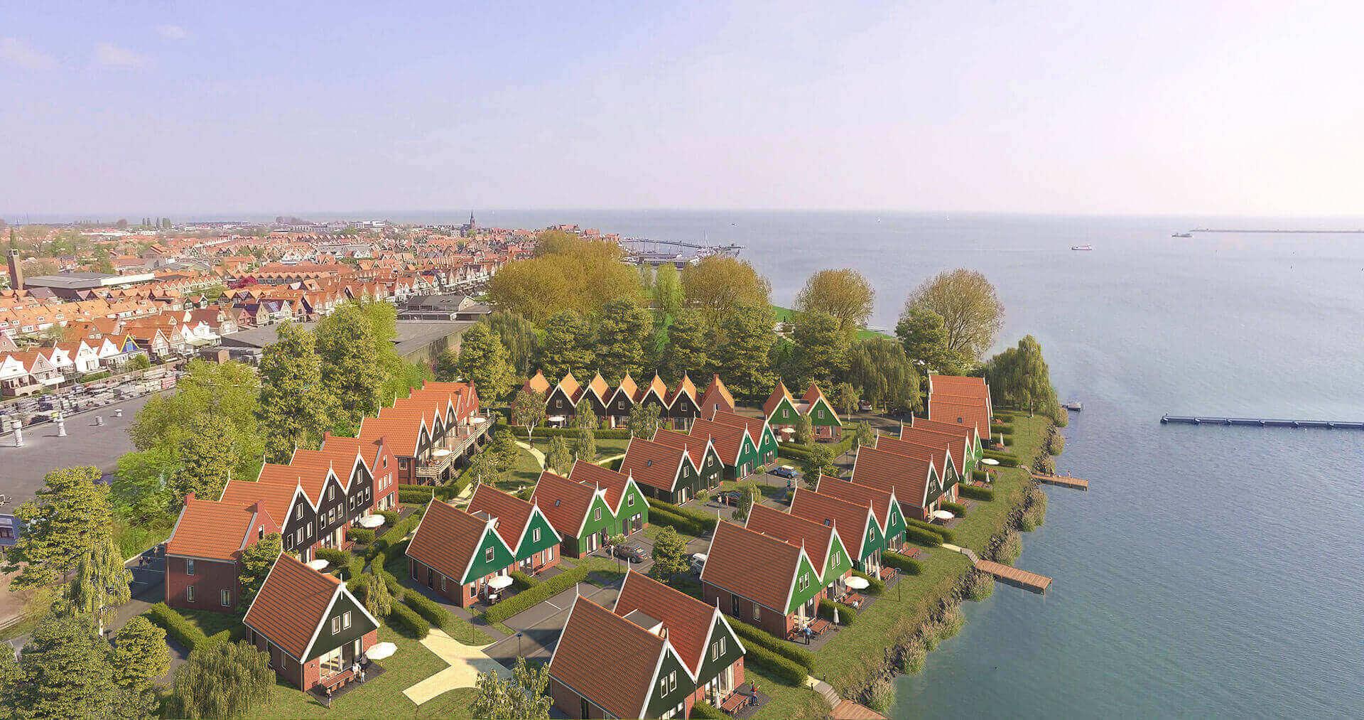 Landal Volendam recreatie woning recreatiewoning huis