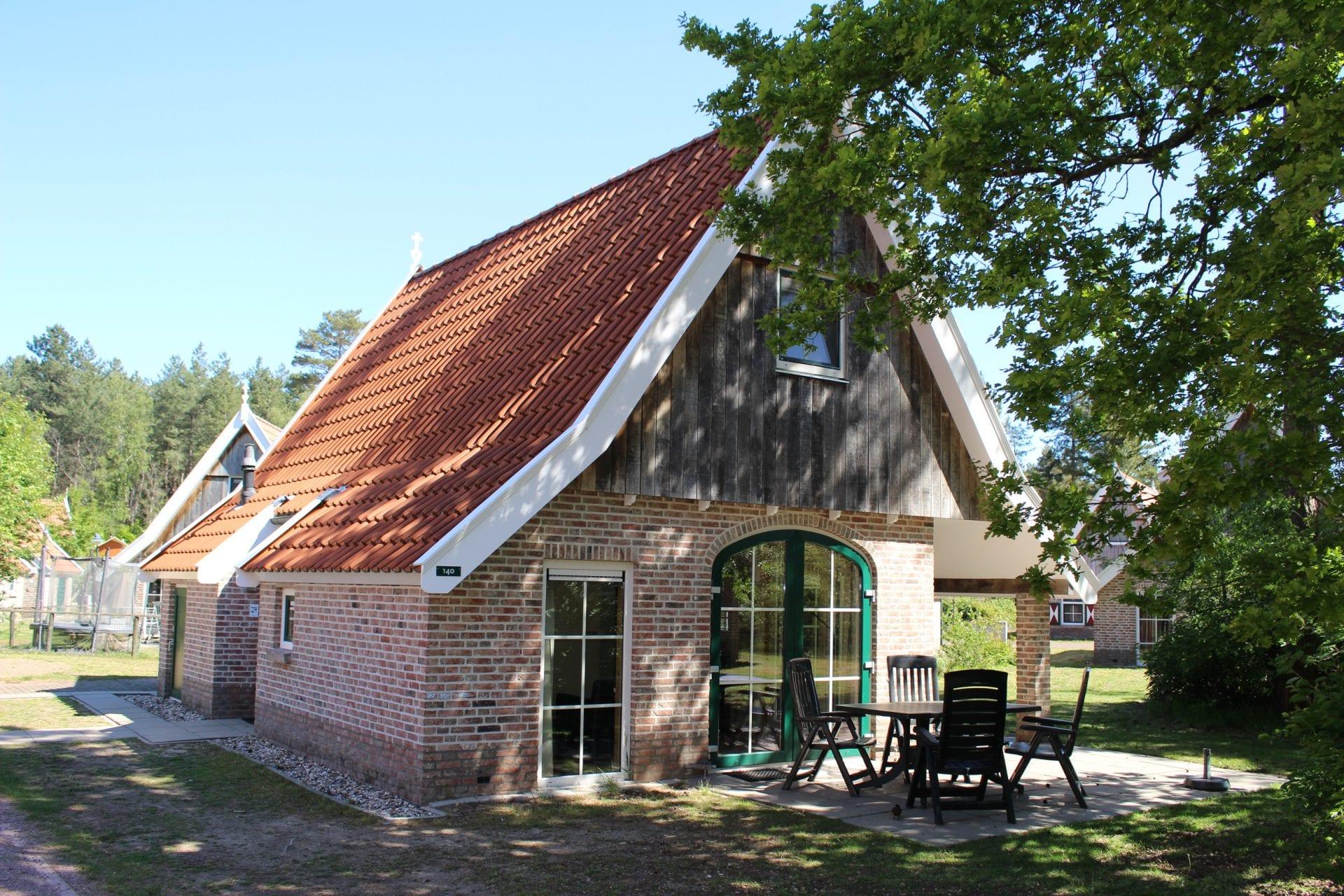 1 Vakantiehuis 140, type Hoes Bentheim 4-persoons Comfort